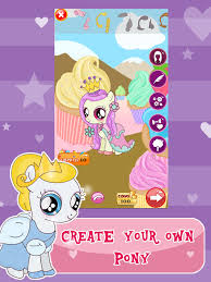 princess pony dress up for equestria s my little pets friendship rock salon and make up ever game 4