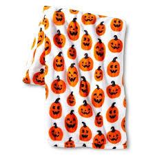 Pumpkin Throw Blanket
