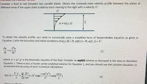 need help solving this navier stokes equation