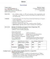How To Make Cv For Freshers Inspirational Best Resume For Freshers