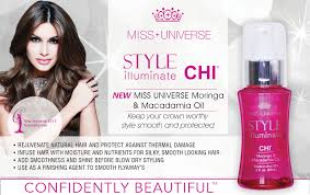 Chi Hair Style miss universe style illuminate by chi hairstyling line 2332 by wearticles.com