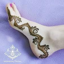 Foot Simple Mehndi Design 2018 Pin By Almeena On Henna Legs Mehndi Design Mehndi Designs