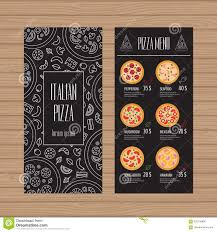 Flyer Pizzeria Design Pizza Menu Design Leaflet And Flyer Layout Template