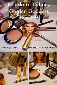 charlotte tilbury golden dess review with a video demonstration so you can see how this