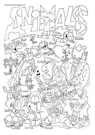 Small Picture Printable Coloring Pages Of Animals Kids Page Pics Farm To Print