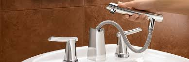 architecture creative of bathtub faucet with sprayer faucets youll love within designs 2 roman kit waterfall