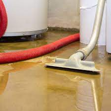 how to remove water from a flooded room