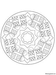 Mandala Kerstmis Kleurplaten Kleurplateneu