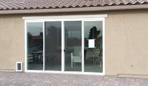 enclose your patio with a magnificent 12 foot wide and 8 foot tall 4 panel sliding glass door after yelp