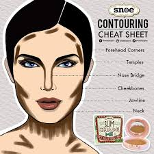 check out our cheat sheet for tips on where to put your contouring makeup slim shade me face sculpting cake delivers natural looking contours face slimming