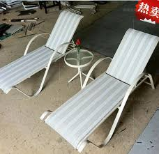 terrace swimming pool lounger chairs outdoor seaside beach bed lying bed lying bed recliner rocking 54468