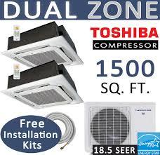 30000 btu ductless mini split 12000 18000 ceiling cassette dual zone thermocore mini split 24000 btu ac air conditioner w heat pump