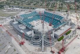 Hard Rock Stadium Seating Chart Hurricanes Etfe And Facade Engineering In Miami Archpaper Com