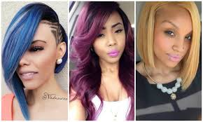Haircuts 2017 Ladies Beautiful Fall Winter Hairstyles for Black ...