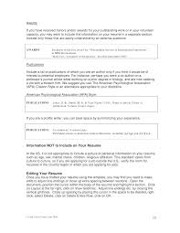 Examples Of Perfect Resumes Stunning Hobbies And Interest List Resume Of For In Examples Traveling