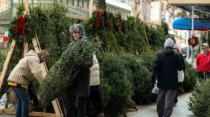 christmas-trees-sale-manhattan Christmas Tree Shortage Is Driving Up Prices | realtor.com®