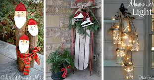 40+ Gorgeous Christmas Porch Decorations Transforming Your Entryway!  Cute  DIY Projects