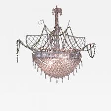 listings furniture lighting chandeliers and pendants 20th c italian venetian crystal ship chandelier