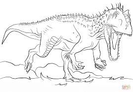 Disegno Di Indominus Rex Da Colorare Disegni Da Colorare E Con