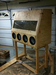 Sand Blaster Cabinet How To Build A Homemade Sandblasting Cabinet Smeccacom