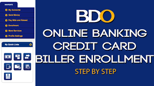 If your credit card bears any of the american express, visa, and mastercard logos, you can make payments for international transactions no matter where you are. Bdo Online Banking L How To Pay Credit Card Bills Online 2020 Youtube