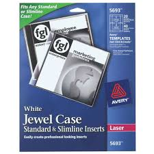 avery template 8965 avery 5693 white jewel case standard and micro center