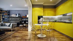 Yellow Kitchen Backsplash Small 2015 Yellow Kitchen Ideas Home Design And Decor