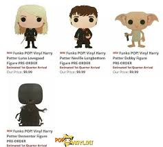 the harry potter wave 2 figures from funko pop are coming read