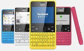 nokia qwerty. gambar nokia asha 210 ponsel qwerty murah dengan tombol whatsapp qwerty 2