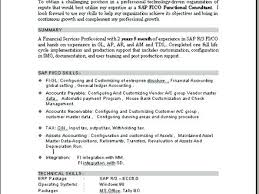 Sap Consultant Sample Resume Cool Sap Sd Sample Resume Gallery Of Sap Consultant Sample Resume Ideas