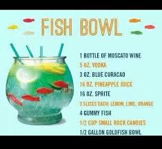 Pin by Ashley Gagnelius on Drink Me. | Alcohol drink recipes, Alcohol  recipes, Fishbowl drink