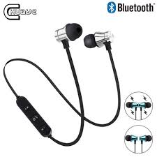 <b>XT11 Magnetic Wireless</b> bluetooth Earphone In ear Neckband sport ...