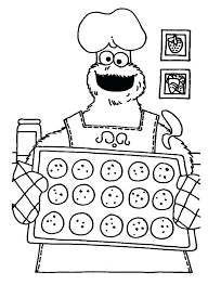 Monster Coloring Pages Best Cookie Monster Coloring Pages Printable