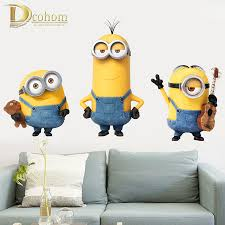 Minions Bedroom Wallpaper Compare Prices On Minions Wallpaper For Kids Room Online Shopping