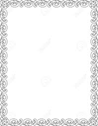simple frame border design. Simple Lines, Border Frame, Vector Design Stock - 24306621 Frame S