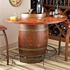 wine barrel bar plans. Wine Barrel Bar Oak Table Vintage Half Plans Diy A