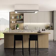 Kitchen Wooden Furniture Contemporary Kitchen Wooden Island Lacquered Quadrica
