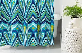 colorful shower curtains. View In Gallery Colorful Trina Turk Shower Curtain Curtains W