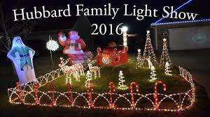 Hubbard Family Light Show 2016 Jackson Mo Youtube