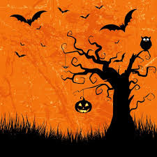 halloween pictures to download grunge style halloween background with bats jack o lantern and owl