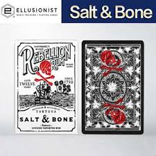 <b>1Pcs</b> Salt & Bone Playing Cards Poker Size <b>Deck</b> By Ellusionist ...
