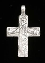 great moravia cross pendant sterling silver reion