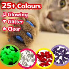 Cat Nail Caps Protects Furtiture Stops Scratching