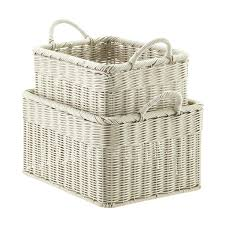 office storage baskets. Storage Bins And Baskets Boxes Containers Wicker Office .