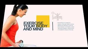 Fitness Powerpoint Presentation Youtube