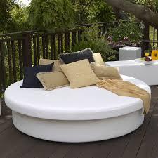 Round Outdoor Bed Round Outdoor Daybed Ira Design