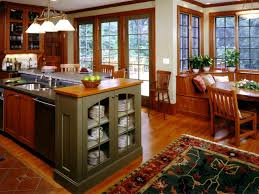 craftsman style kitchen cabinets