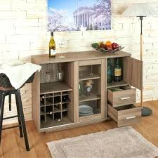 buffet server furniture home bars ideas sideboards wine with rack cabinet homcom 71 microwave storage hutch