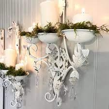 wall sconce crystal shabby chic decor
