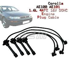 Amazon.com: 8mm Ignition Lead Spark Plug Wire Cable Toyota AE100 ...